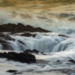 thor's-well-at-sunset,-cape-perpetua,-oregon-coast-by-diana-robinson