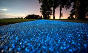 Glowing Bike Lane 1