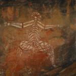 Aborigenal rock